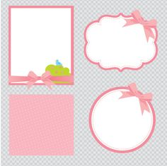 Baby Shower Baby Girl Clipart Instant Download PNG por araqua