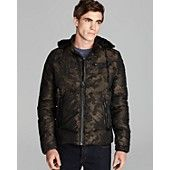 Diesel Whansel Camo Down Jacket