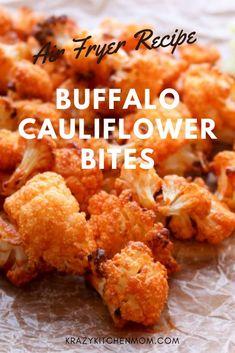 Air Fryer Recipes Appetizers, Air Fryer Recipes Breakfast, Air Fryer Oven Recipes, Air Frier Recipes, Air Fryer Dinner Recipes, Oven Fryer, Healthy Appetizers, Recipes Dinner, Sauce Buffalo