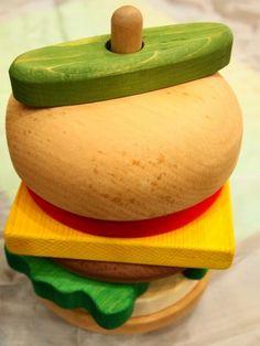 Hamburger Stack Puzzle