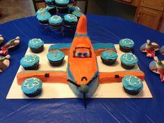 Disney's Dusty the plane birthday cake!