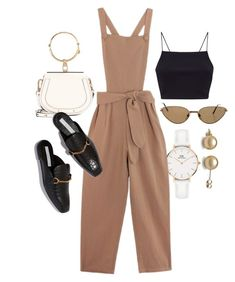 """""""Untitled #23496"""" by florencia95 ❤ liked on Polyvore featuring Daniel Wellington, Samantha Pleet, Chloé and Cartier"""