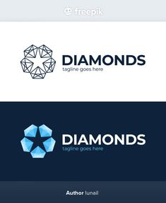 Star Logo, Diamond Shapes, Stars, Sterne, Star