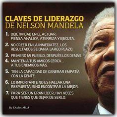 Claves del #LIDERAZGO de #NelsonMandela