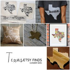 Texas Etsy Finds (Under $35)