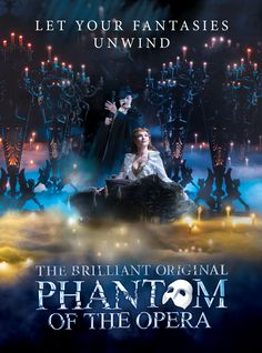 """A lovely poster, though I fail to see what they mean by """"original."""" ALW's isn't the first musical or even stage musical version of Phantom; and furthermore that doesn't appear to be the original cast of ALW's for London or Canadian West End. Phantom 3, Phantom Of The Opera, Broadway Theatre, Musical Theatre, Teatro Musical, Opera Ghost, Music Of The Night, Ramin Karimloo, Royal Albert Hall"""