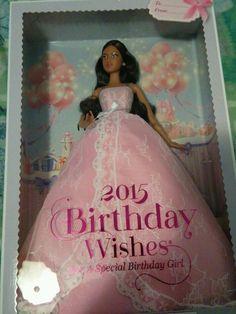 Now Selling on Ebay! BARBIE 2015 FANTASY & SPECIAL OCCASION Birthday Wishes Doll - Hispanic #Dolls