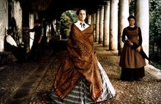 """Luchino Visconti- Italian theatre, opera and cinema director. Piero Tosi –costume designer that has worked several award winning films that include, Luchino Visconti, """"senso"""" Luchino Visconti, Cinema Movies, Special People, Women's Summer Fashion, Costume Design, Fashion Details, Good Movies, Hollywood, Costumes"""