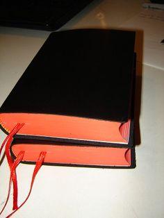 Burmese Small Leather Bible / Black Myanmar / Burma