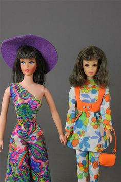 2 DOLLS INCLUDING BRUNETTE LIVING BARBIE AND TNT F - by Apple Tree Auction Center