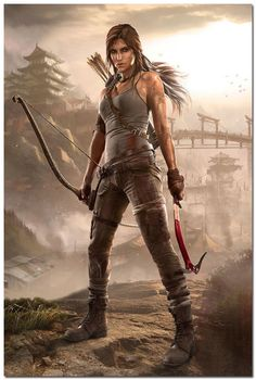 """Lara Croft, Tomb Raider, as the character appears in the new Tomb Raider """"Origin"""" game. I wish I would have created this character myself! Tomb Raider Lara Croft, Lara Croft Game, Lara Croft Angelina Jolie, Tom Raider, Tomb Raider 2013, Tomb Raider Cosplay, Tomb Raider Game, Tomb Raider Underworld, Battlestar Galactica"""