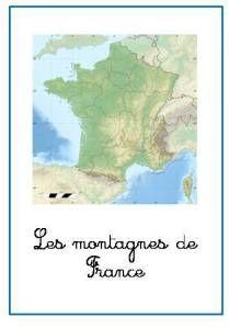 Nomenclature LES MONTAGNES DE FRANCE