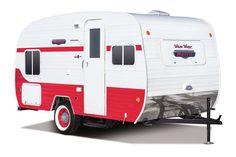 Riverside Retro Trailers   Retro Lightweight Travel Trailer Floorplans   Riverside RV