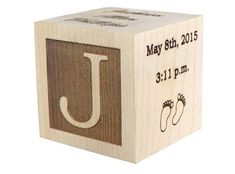 Personalized Baby Block, Baby Gift, Shower Gift, Newborn Gift