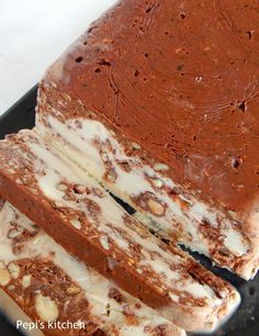 The Kitchen Food Network, Greek Sweets, Icebox Cake, Appetisers, Summer Desserts, Greek Recipes, Frozen Treats, Yummy Cakes, Afternoon Tea