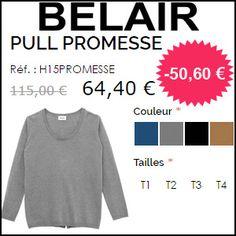 #missbonreduction; 50,60 € de réduction sur le PULL PROMESSE chez Belair-Paris. http://www.miss-bon-reduction.fr//details-bon-reduction-Belair-Paris-i853591-c1827600.html