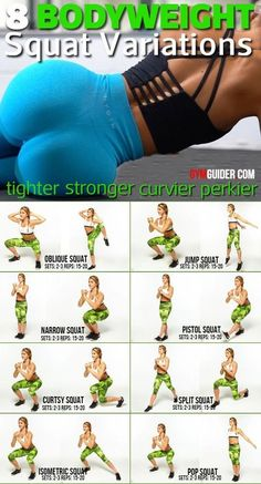 Squat Workout, Gym Workout Tips, Fitness Workout For Women, Workout Challenge, Workout Videos, At Home Workouts, Squat Exercise, Glute Workouts, Exercise Balls