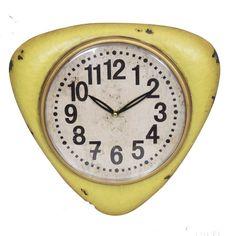Nástenné hodiny Vintage Jaune | Bonami