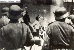 warsow ghetto uprising (not seen in stroop report) and other places.abuse of women