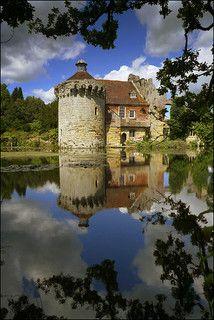 Scotney Castle, Lamberhurst, Tunbridge Wells, England.