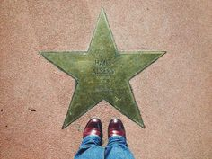 Hans Albers star at Potsdamer Platz.....