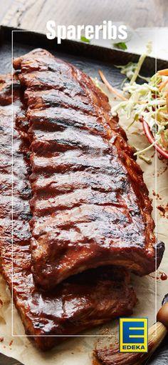 Das schlagen Grill-Herzen höher! #americanbarbeque #spareribs #grillen #edeka