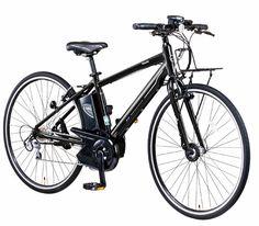 電動アシスト自転車では珍しく、ロードバイクと同等の700Cと呼ばれる大径ホイールを採用したモデル。ホイール径が大きいことで速度の維持を容易にしている。ギアもロードバイクなどに採用されるシマノ製の10段変速を採用し、フロントホイールにスピードセン...