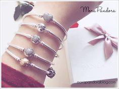 My Pandora bangle collection :D