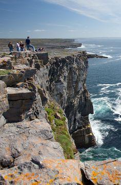 The Aran Islands, Ireland.