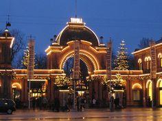 Tivoli, Copenhagen. The main entrance.
