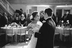 First dance at elegant summer wedding in DC