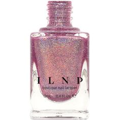 Dream Girl Light Orchid Ultra Holographic Nail Polish ($10) ❤ liked on Polyvore featuring beauty products, nail care, nail polish, nails, beauty, makeup, bath & beauty, black and makeup & cosmetics