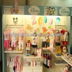 Magasin conception pour vêtements affichage, Bébé vêtements…