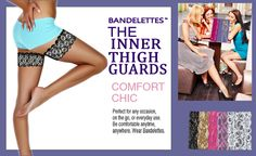 Lace thigh bands to prevent chafing. Non slip silicone will hold it from moving. $15.99