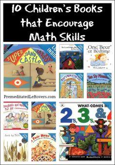 10 Children's Books that encourage math skills