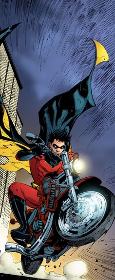 Red Robin Makes an Entrance in Batman #681