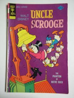 Gold Key Comics Walt Disney's Uncle Scrooge