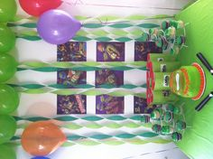 Ninja Turtle Birthday for my son!