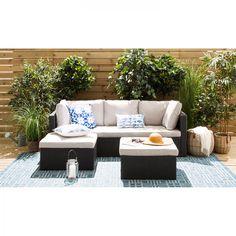 poly rattan lounge-set gartenset garnitur polyrattan gartenmöbel ... - Gartenmobel Lounge Polyrattan
