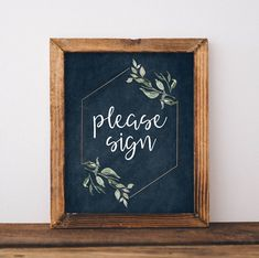 Please Sign Our Guestbook Sign - Rustic Greenery Wedding Decor - Guest Book Sign - Guest Book Print - Rustic Wedding Signs - Printable Sign by LittleCreekCreative on Etsy https://www.etsy.com/listing/552856350/please-sign-our-guestbook-sign-rustic #diyrusticweddingguestbook