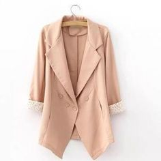 Buy 'JVL – Cuffed Blazer' with Free Shipping at YesStyle.com.au. Browse and shop for thousands of Asian fashion items from China and more!