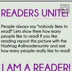 #READERSUNITE!