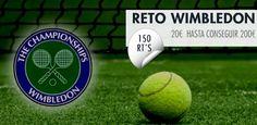 RETO WIMBLEDON 2015  http://bit.ly/RETO-Wimbledon2015