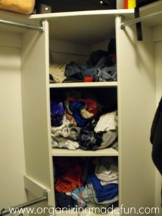 Corner Closet Design, Pictures, Remodel, Decor and Ideas | closets ...