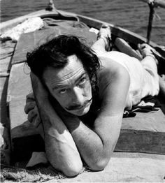 Dali at Port Ligat by Georges Dudognon, 1953