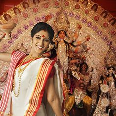 Bengali Look For Durga Puja