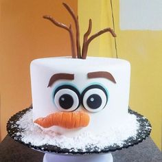 Olaf Frozen Movie Cake Olaf Birthday Cake Disney