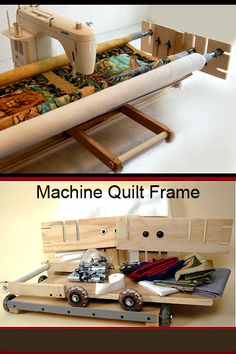 Machine quilt frames for home sewing machines!!! up to king size quilt!!!! about $175 ship