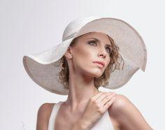 Straw Summer City Hats Womens Large Brim Sun by EllaGajewskaHATS