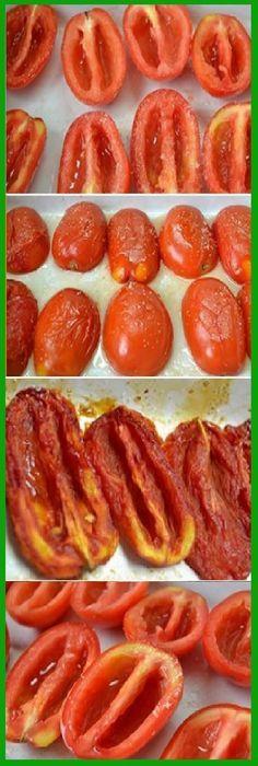 TOMATES SECOS Veggie Recipes, Mexican Food Recipes, Vegetarian Recipes, Cooking Recipes, Healthy Recipes, Deli Food, Good Food, Yummy Food, Dehydrated Food
